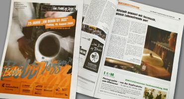 Em Bebbi sy Jazz – Programmzeitung