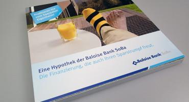 Baloise Bank SoBa – Kundenmailing