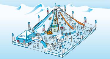 FIS Internationaler Skiverband – FIS Snowkidz Event-Look