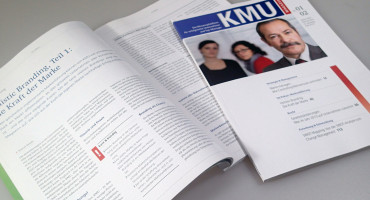 KMU-Magazin – Redesign Magazin-Layout