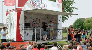 Schweizerischer Fussballverband SFV – Fussball macht Schule – Event-Look