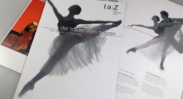 Tanz Akademie Zürich – Imagebroschüre